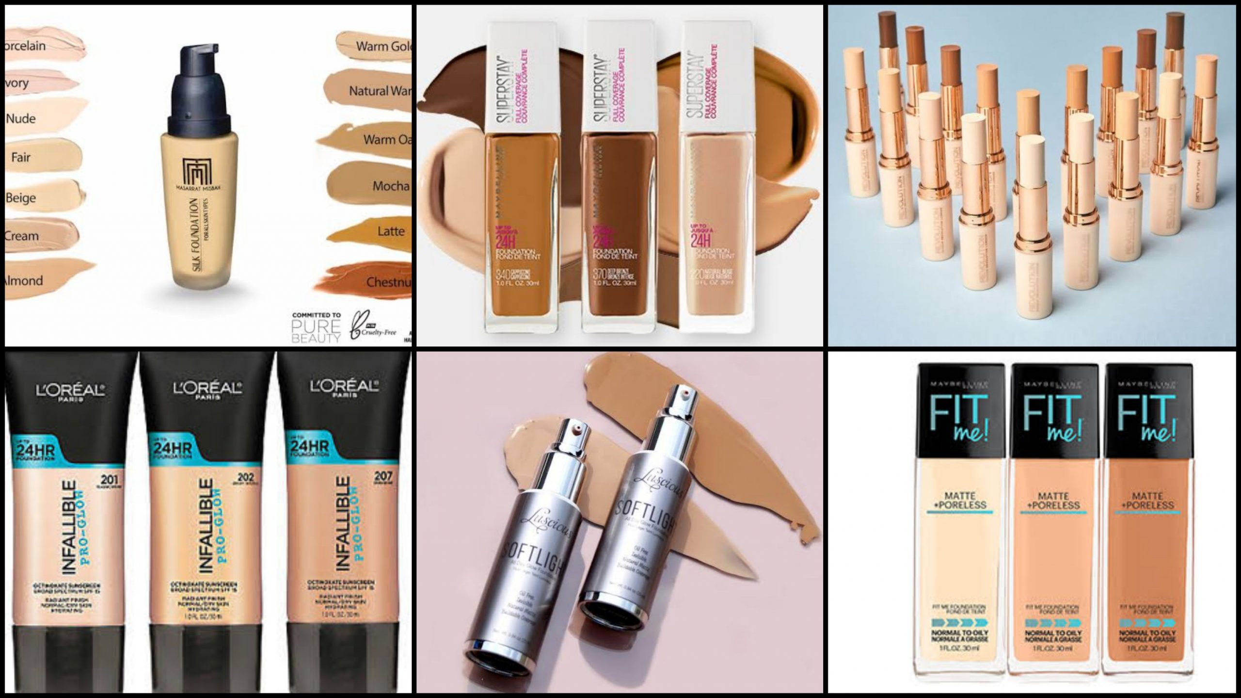 Oily Normal Or Dry The Best Foundations That Ll Brighten Up Your Summer 2020 Diva Magazine